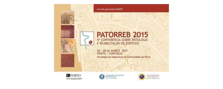 Participação da SIVAL na 5ª Conferência Sobre Patologia e Reabilitação de Edifícios – PATORREB 2015